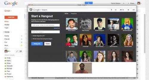 Google добавила групповой видеочат в Gmail