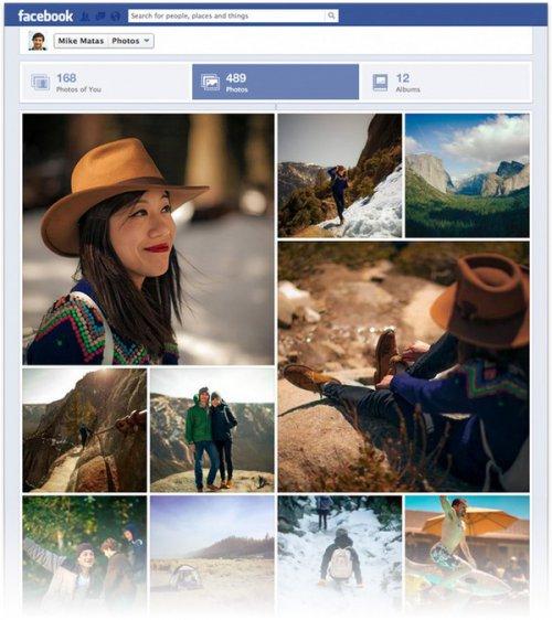 Facebook улучшил просмотр фотографий с ПК