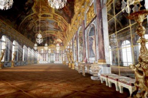 Chaos to Perfection — Интерактивное 3D путешествие по Версалю от Google