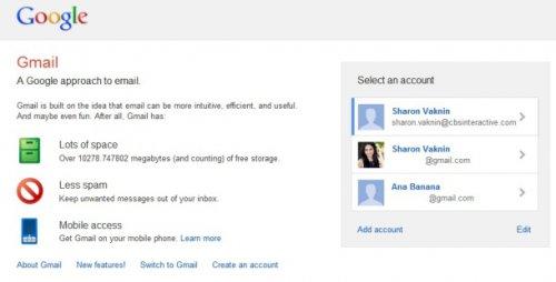 Google обновил функцию множественного входа в учетные записи