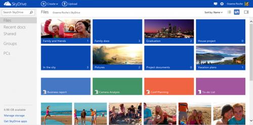 Microsoft обновила SkyDrive
