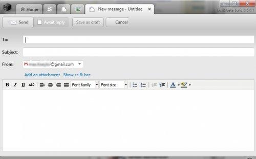 Как ответить одновременно  на сообщения из почты и соцсетей