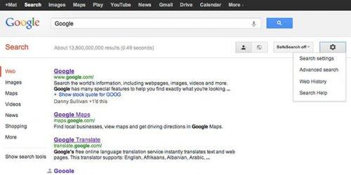 Google добавила возможность использования единых настроек поиска для различных устройств