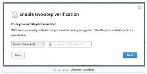 Как защитить свой аккаунт Dropbox с помощью двухэтапной аутентификации