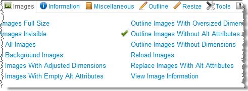 Какие задачи оптимизатора можно решить с помощью бесплатного плагина Web Developer Toolbar