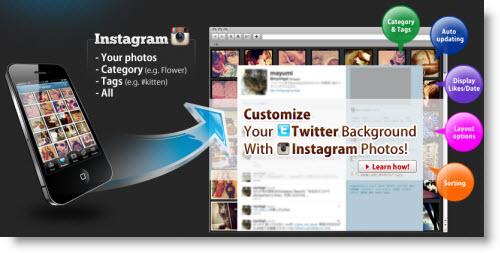 Сервис InstaBG поможет украсить свой Twitter фотографиями из Instagram