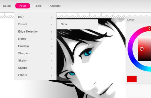 Picozu Editor — онлайновый редактор графики на HTML5