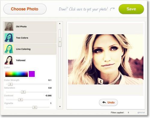 Picfull — Редактирование фотографий и наложение фотоэффектов онлайн