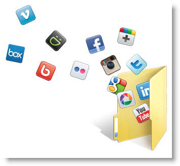 Social Folders � ��������� ����������� � ������������� ������ �� Facebook, Flickr, Google Docs