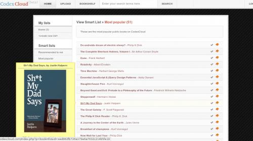 CodexCloud — онлайн сервис коллекционирования и чтения книг