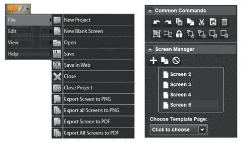 Mockup Builder —  онлайновый редактор для создания макетов  и прототипов приложений