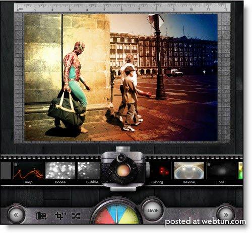 Pixlr-o-matic — онлайновая фотолаборатория для блондинок