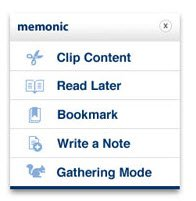Memonic — мощный онлайновый блокнот