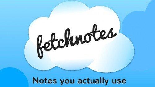 Fetchnotes — простой онлайновый блокнот для заметок (+25 Гб в Box.com)