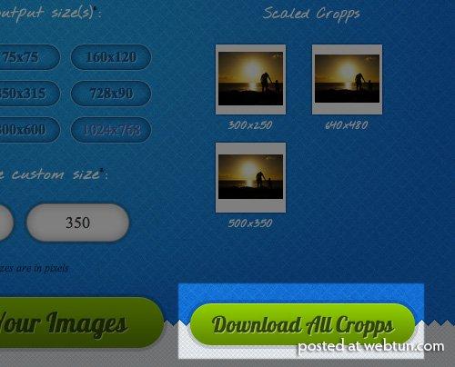 Cropp.me — Автоматическое онлайн кадрирование изображений