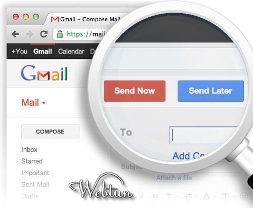 Как отправить письма в Gmail по расписанию