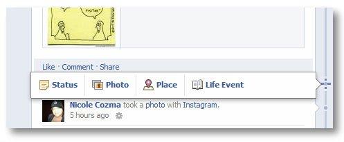 Как писать посты в Facebook задним числом