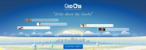 GeoCha – локальный чат и информация на интерактивной карте