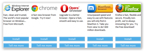 Maxthon входит в пятерку самых популярных браузеров