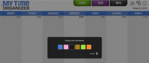 My Time Organizer для Chrome: отличные инструменты для планирования заданий на неделю или месяц