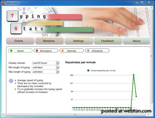 Анализируйте ошибки и совершенствуйте свои навыки печатания вместе с Typing Stats для Firefox