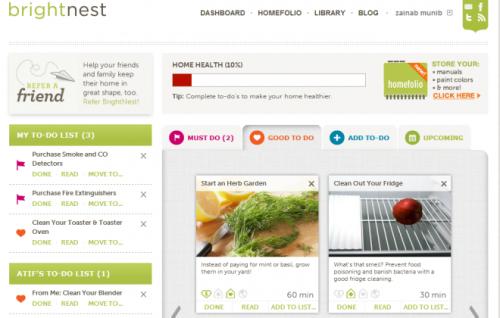 BrightNest: еженедельные заметки и списки дел помогут справиться с домашними делами