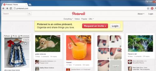 Как найти похожие изображения к картинкам на Pinterest, используя поисковик Google