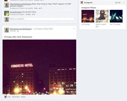 Facebook тестирует новый вид «Хроники» на профильных страницах