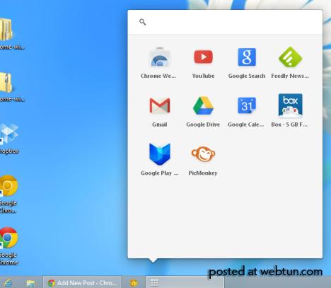 В Google Chrome разрабатывается ланчер приложений