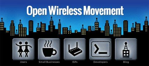 Движение за свободный WiFi - Open Wireless Movement