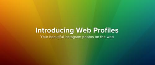 Instagram добавила возможность просмотра профилей пользователей через веб-браузер