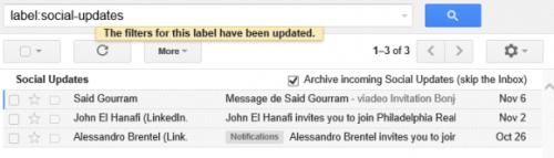 Арихивируйте письма спомощью умных ярлыков Gmail