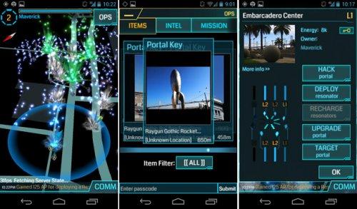 Google запустила глобальную мобильную онлайн игру Ingress