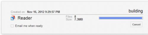 Экспорт данных Google Reader вGoogle Takeout