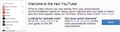 Youtube снова разрешает протестировать новый интерфейс изменением cookie