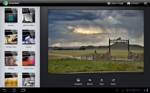 Google выпустила Snapseed для Android и обновила версию приложения для iOS