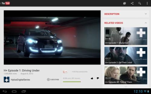 Обновлён интерфейс мобильной и Android-версии YouTube