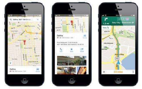 Google представила картографическое приложение для iPhone и SDK