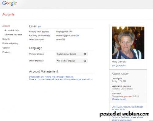 Оповещения безопасности вучётной записи Google