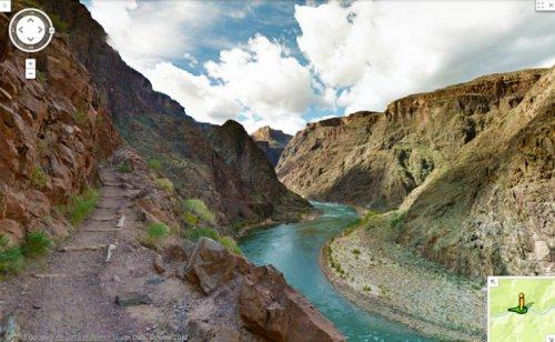 Google выложил панорамы Гранд-Каньона