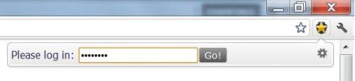 Парольная защита для закладок Chrome
