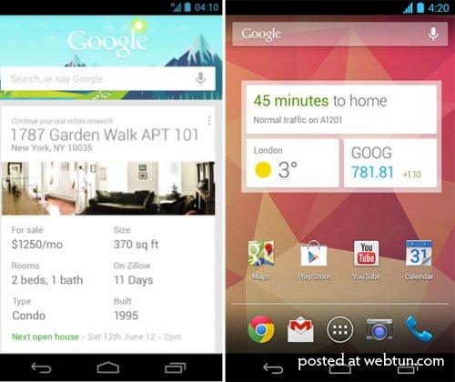 Google расширила возможности Google Now для Android
