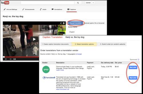 YouTube нанял профессиональных переводчиков