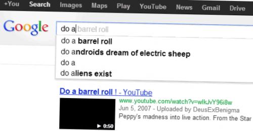 Мешающая «пасхалка» от Google