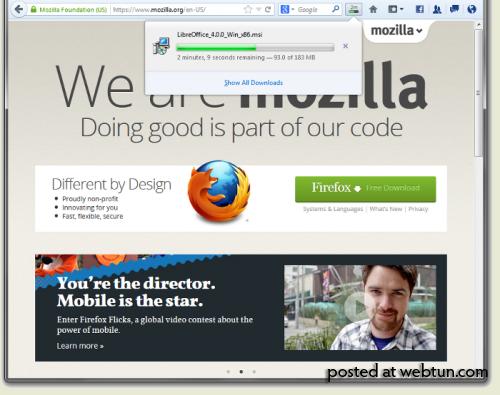 Началось бета-тестирование Firefox 20 и создание aurora-ветки Firefox 21