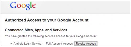 Как почистить список приложений, имеющих доступ к вашим аккаунтам