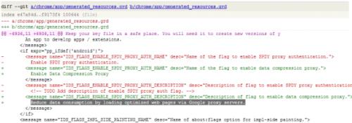 Вбраузер Chrome дляAndroid появится веб-ускоритель
