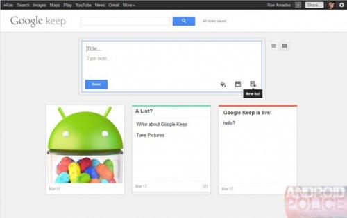 Google ������� ���������� Evernote