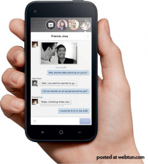 Facebook представил свою надстройку Home для Android и смартфон HTC First