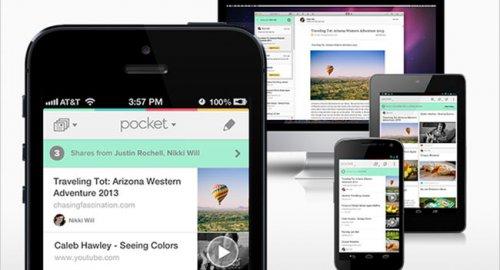 Pocket - сервис отложенного чтения стал социальным
